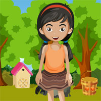 Free online flash games - G4K Little Girl Escape game - WowEscape