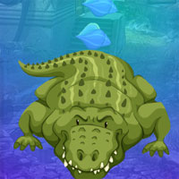 Free online flash games - G4K Greedy Crocodile Escape