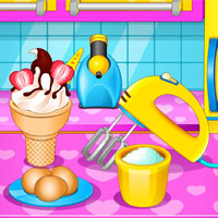 Free online flash games - Frozen Ice Cream Maker game - WowEscape