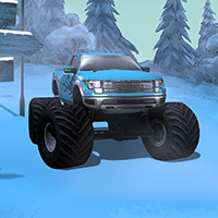 Free online flash games - New Extreme Winter 4x4 Rally game - WowEscape