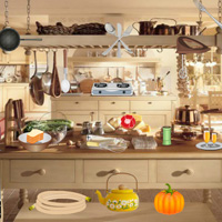 Free online flash games - Hog Classic Kitchen Hidden Objects game - WowEscape