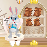 Free online flash games - Easter Bunny Room Escape game - WowEscape