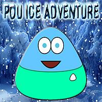 Free online flash games - Pou Ice Adventure game - WowEscape