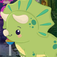 Free online flash games - G4K Cartoon Triceratops Escape game - WowEscape