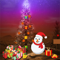 Free online flash games - Big Christmas Gift Land Escape game - WowEscape