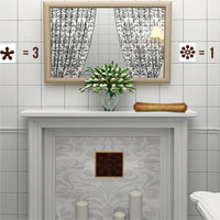 Free online flash games - 365Escape Bathroom game - WowEscape