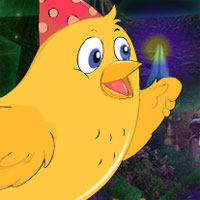 Free online flash games - G4K Birthday Chick Escape