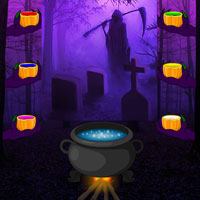 Free online flash games - Wowescape Halloween Gothic Forest Escape game - WowEscape