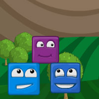 Free online flash games - Happy Square Blocks game - WowEscape