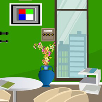 Free online flash games - G4E Green Office Room Escape