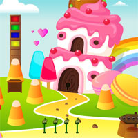 Free online flash games - AvmGames Escape Fantasy Ice Cream Land game - WowEscape