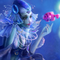 Free online flash games - Fantasy Fish Stars game - WowEscape