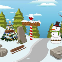 Free online flash games - Top10 New Year Find the Gift Box game - WowEscape