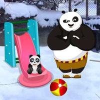 Free online flash games - Panda Snow World Escape Wowescape game - WowEscape