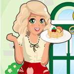 Free online flash games - Mia Cooking Fruit Pancake game - WowEscape