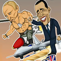 Free online flash games - Presidents Vs Terrorists game - WowEscape