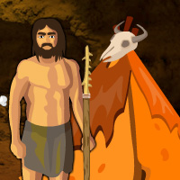 Free online flash games - Wowescape Save The Caveman game - WowEscape