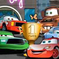 Free online flash games - Cars Capital City Contest game - WowEscape