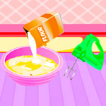 Free online flash games - Cooking Delicious Cheese Cake game - WowEscape