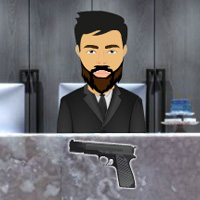 Free online flash games - Gun Saloon Escape