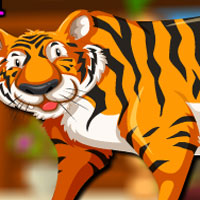 Free online flash games - Avm Roaring Tiger Escape