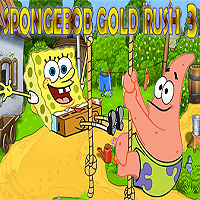 Free online flash games - SpongeBob Gold Rush 3 game - WowEscape