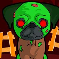 Free online html5 escape games - G2J Zombie Dog Escape