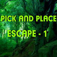 Free online flash games - Hiddenogames Pick and Place Escape-1 game - WowEscape