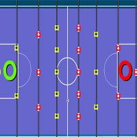 Free online flash games - Mini Table Soccer game - WowEscape