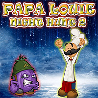 Free online flash games - Papa Louie Night Hunt 2 game - WowEscape
