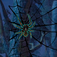 Free online flash games - Wowescape Black Widow Spider Forest Escape game - WowEscape