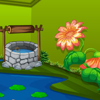 Free online flash games - Green Nature Room Escape game - WowEscape