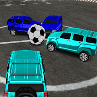Free online flash games - 4x4 Soccer game - WowEscape