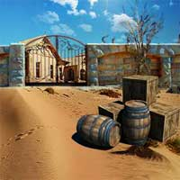 Free online flash games - Can You Escape Desert House game - WowEscape