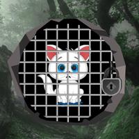 Free online flash games - Bigescapegames Big White Kitty Escape game - WowEscape