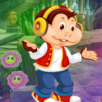 Free online flash games - G4K Modernistic Monkey Escape