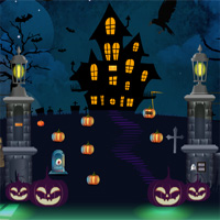 Free online flash games - ZooZooGames Halloween Trick Or Treat Escape game - WowEscape