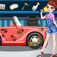 Free online flash games - Car Wash for Fashion game - WowEscape