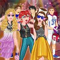 Free online flash games - Disney College Party game - WowEscape