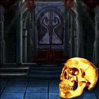 Free online flash games - The Dark Night Skull Land game - WowEscape