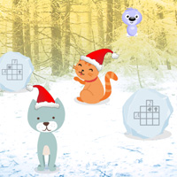 Free online flash games - Wowescape Escape Game Cats Christmas game - WowEscape