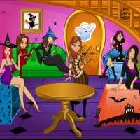 Free online flash games - Halloween Hot Party game - WowEscape
