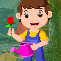 Free online flash games - G4K Gardener Rescue game - WowEscape