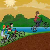 Free online flash games - Toon Rally game - WowEscape