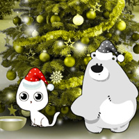 Free online flash games - Christmas Ornament Forest Escape