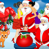 Free online flash games - Santa Christmas Fun game - WowEscape