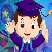 Free online flash games - G4K Joyful Graduated Boy Rescue game - WowEscape
