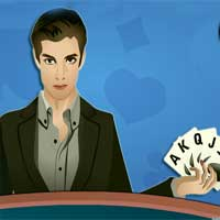 Free online flash games - Vegas Poker game - WowEscape