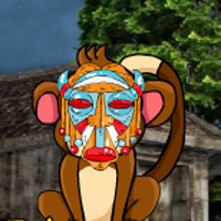 Free online flash games - The Mask Monkey Rescue game - WowEscape