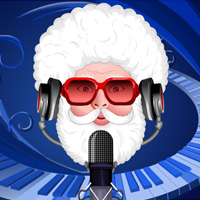 Free online flash games - Musically Santa Dress Up game - WowEscape